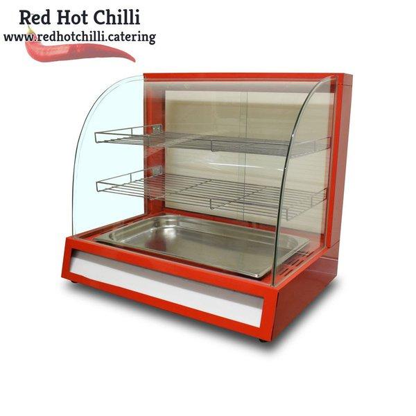 Food warmer display
