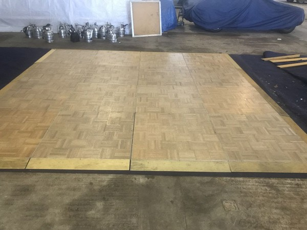 Second hand SICO dance floor complete with edging