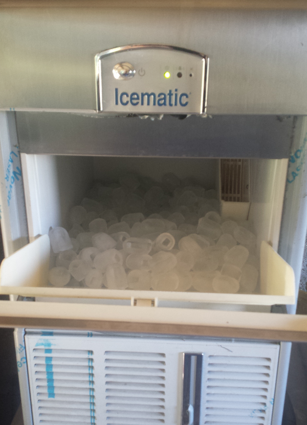 Secondhand ice machine