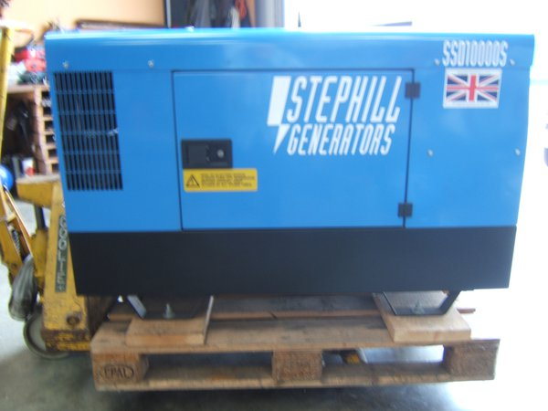 Secondhand generator