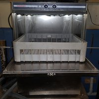 Glass Washer Single Basket