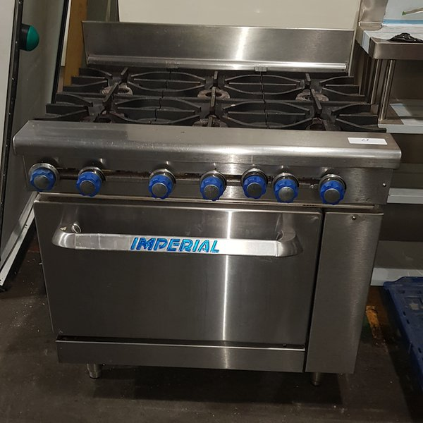 Imperial Gas Cooker 6 Burner