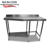 1.37m Stainless Steel Table