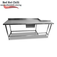 2.1m Stainless Steel Table (Ref: RHCs83)