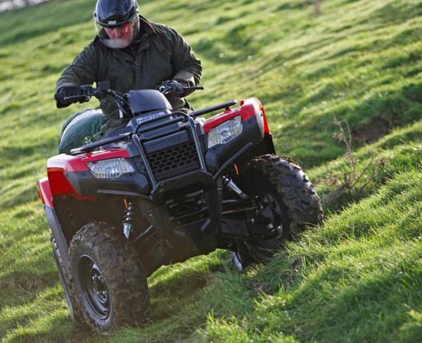 Honda Fourtrax 420 2WD Manual TM1 ATV