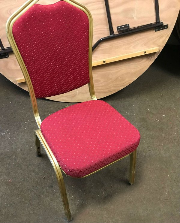 Aluminium banqueting chairs for sale