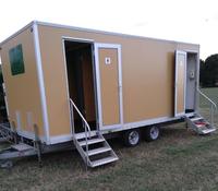 Toilet trailer repair