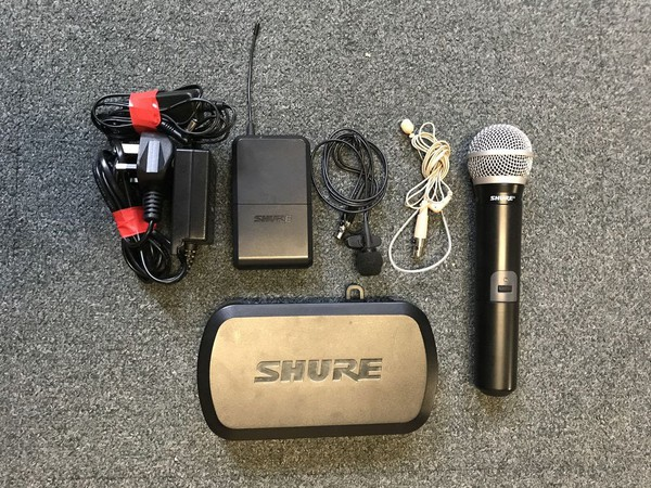 Wireless mic set