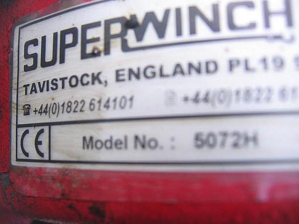 Superwinch 5072H Direct Fire Service