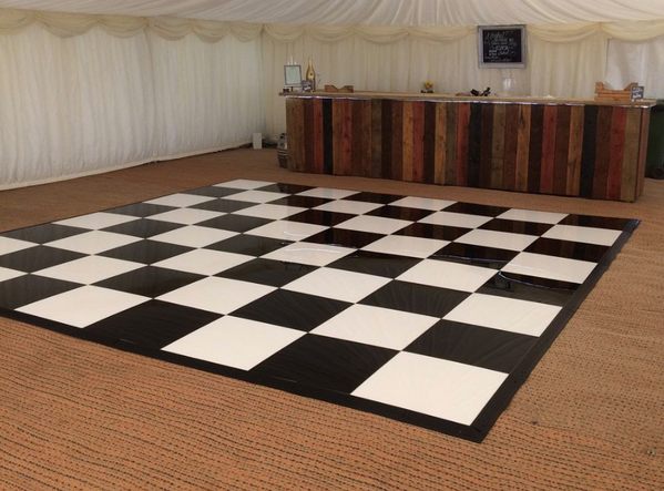 Secondhand dance floor