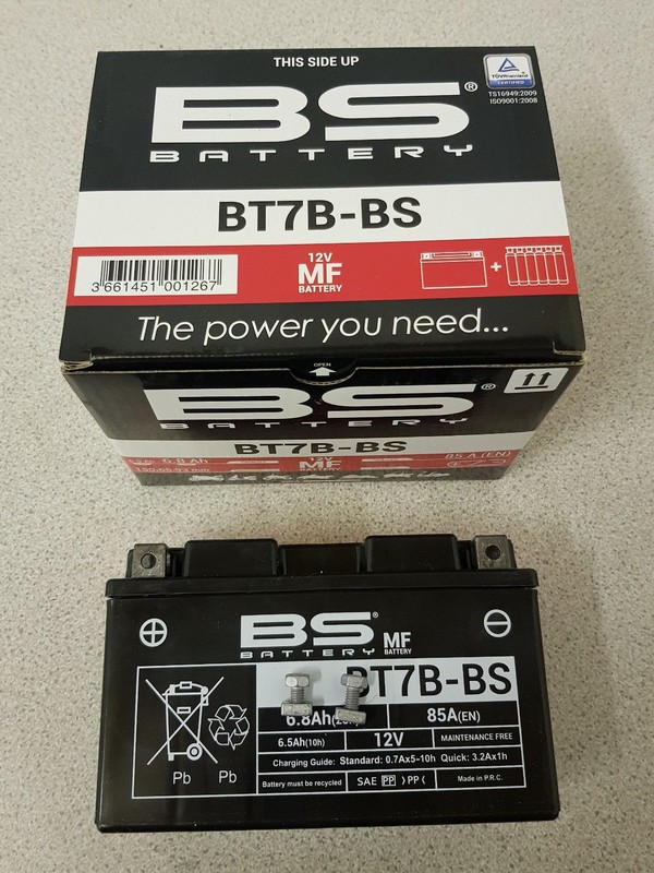 Rotax Max / Iame X30 Kart Battery