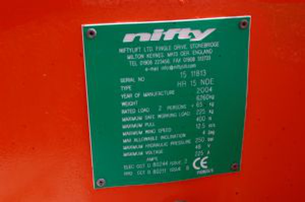 NiftyLift HR15NDE Loler Tested