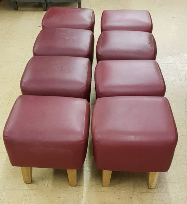 red stools for sale