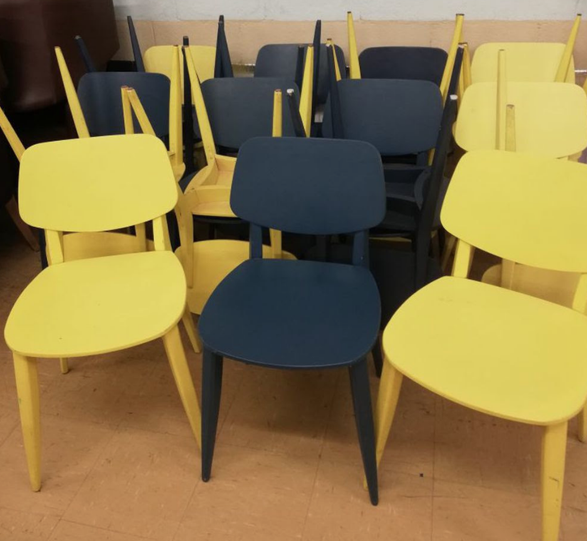 Secondhand Chairs And Tables Cafe Or Bistro Chairs Job Lot 19