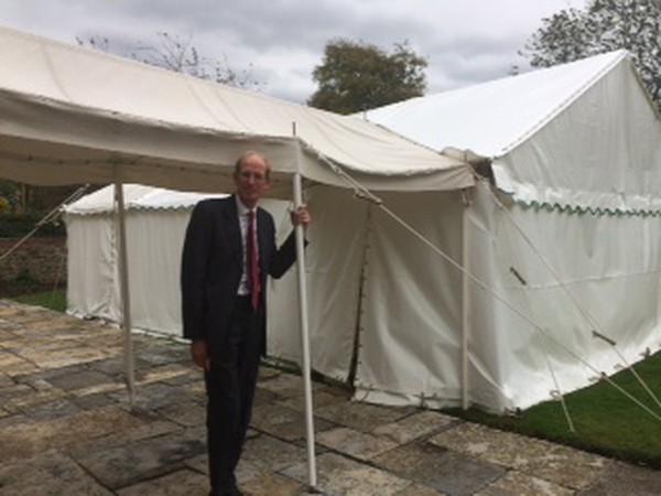 6m x 9m Clear Span Marquee for sale