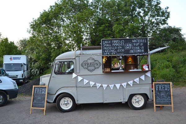 Mobile bar business in Citroen Van