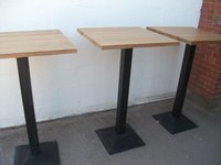 Poseur tables for sale