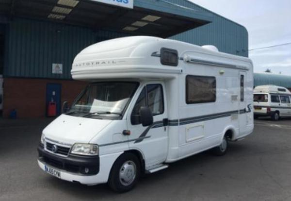 4 berth motorhome for sale
