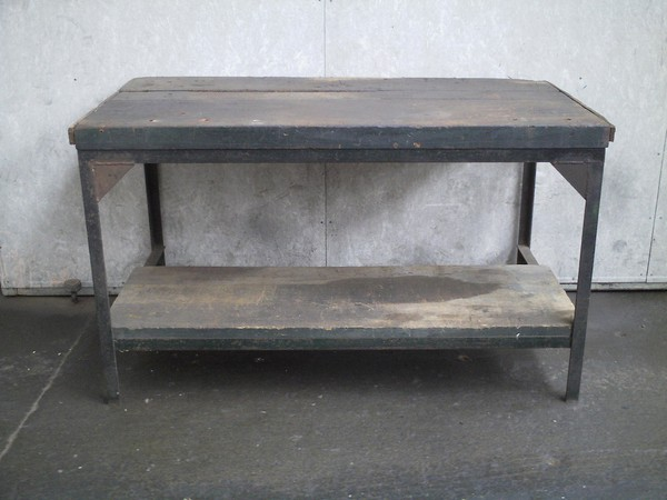 Antique/Vintage Heavy Duty Workbench