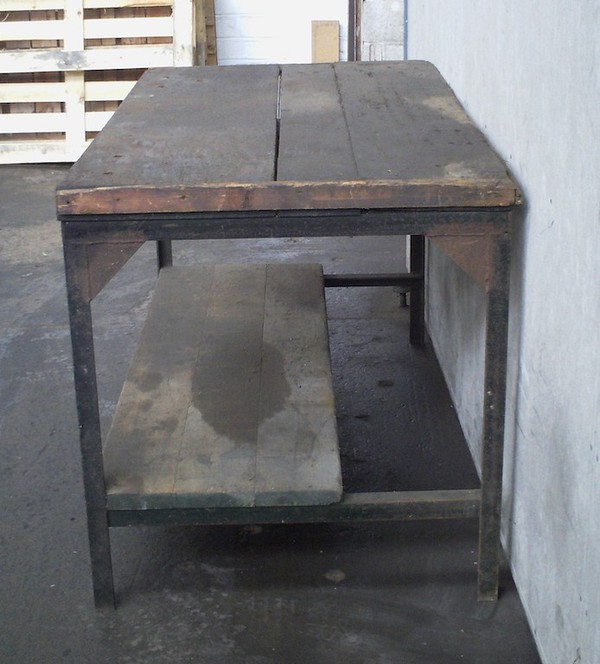 Antique/Vintage Heavy Duty Workbench For Sale