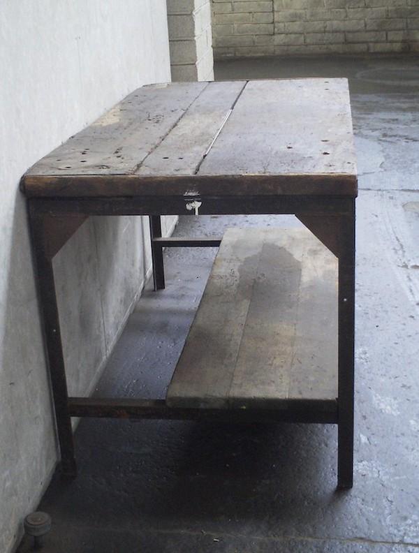 Antique Heavy Duty Workbench