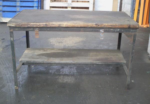 Vintage Heavy Duty Workbench