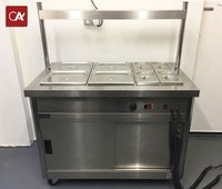 Quality Lincat P6B3 hot cupboard and carvery unit.