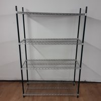 Used Vogue 4 Tier Rack Shelves (7461)