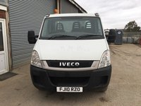 White Iveco Daily 5.5 Tonne