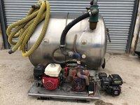 Rapide Stainless Steel Vacuum Tank