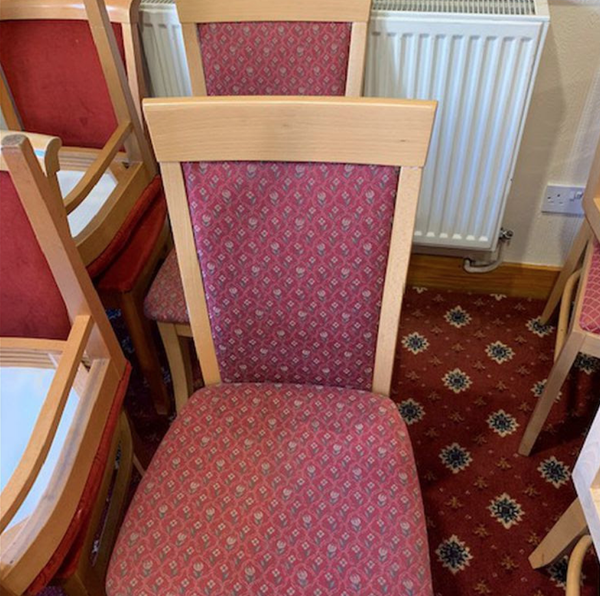 Secondhand chairs for sale