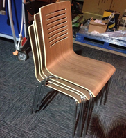 Plywood cafe chairs for sale