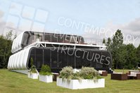 Luxury two tier marquee