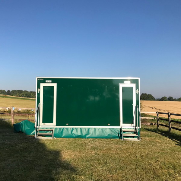 3 + 1 Luxury toilet trailer for sale