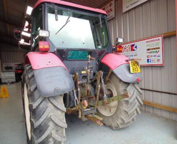 Used Zetor tractor