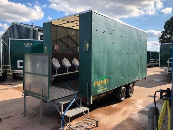 16ft toilet trailer