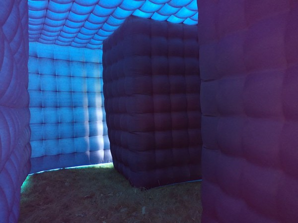 Blue bubble tent for sale