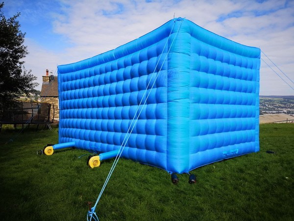 Secondhand inflatable tent
