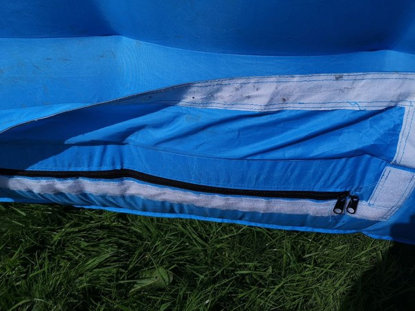 Used bubble tent