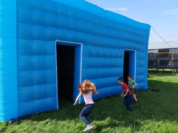 Used inflatable tent for sale