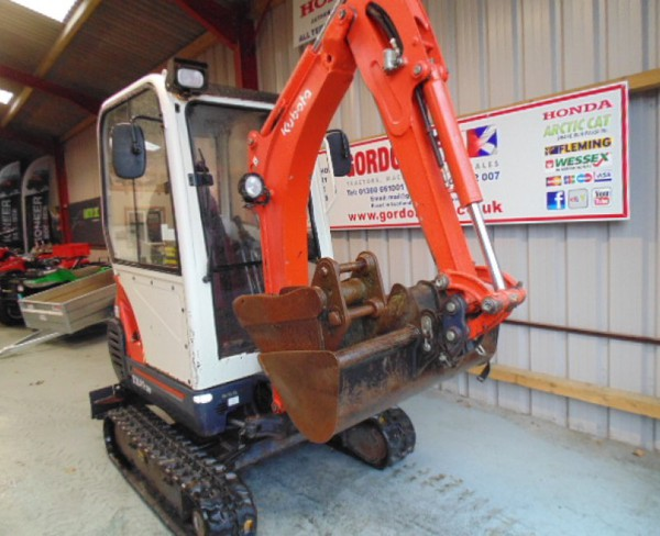 Second Hand Kubota KX 41 Mini Digger