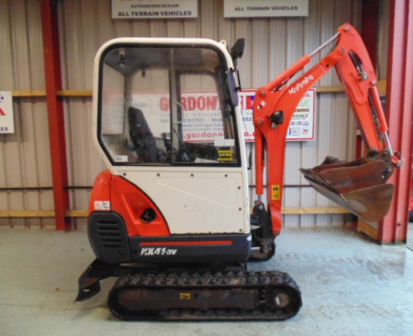 Used Kubota KX 41 Mini Digger
