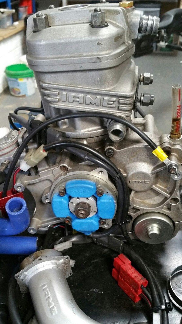 Kart Iame X30 M Series Engine And Setup