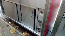 Secondhand food service bain marie