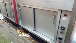 Secondhand food service trolley