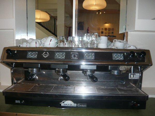 Brasillia 4 group Coffee Machine