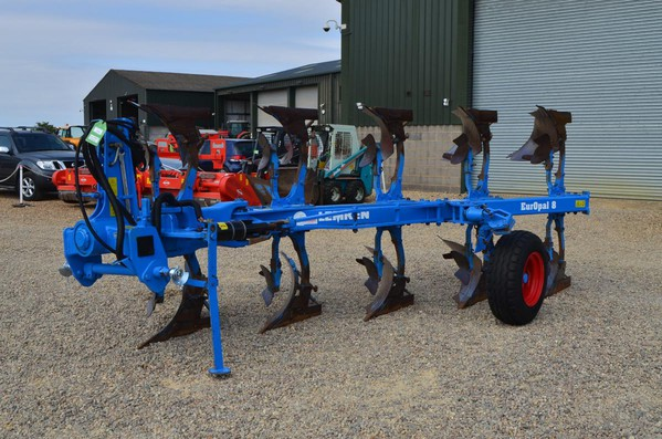 Second Hand Lemken Europal 8 5 Furrow