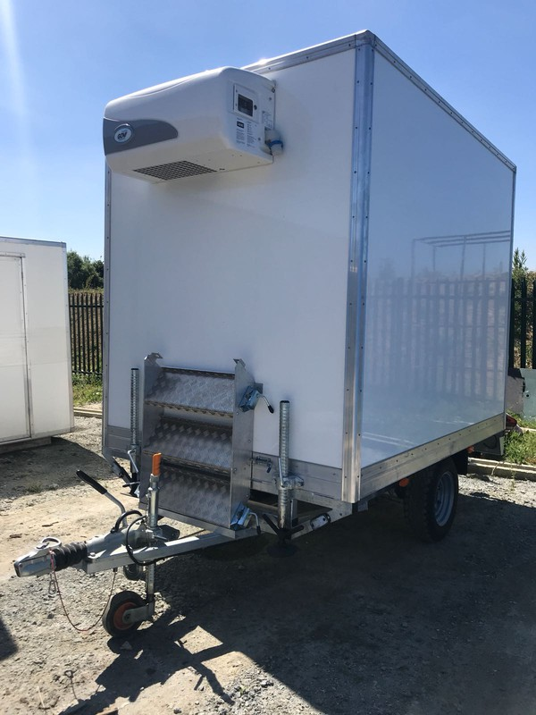 New refrigerated trailer for sale