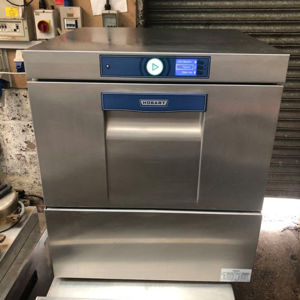 Secondhand glass washer