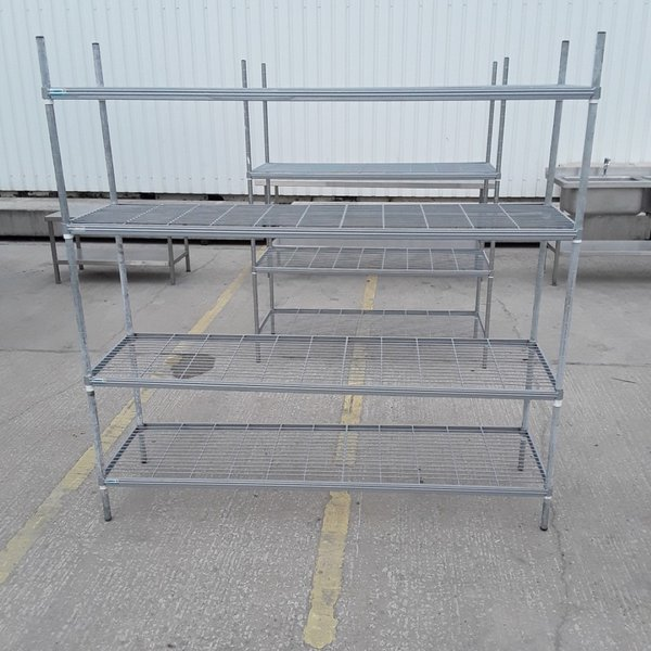 Used 4 Tier Rack Shelves (7513)